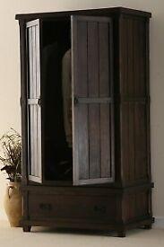 Solid Wooden Wardrobe, Oakfurnitureland