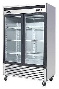 TWO DOOR GLASS FRONT DISPLAY FREEZER -BRAND NEW