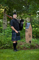 Bagpiper in Kitchener/Waterloo