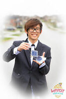 Professional Magician and walking Magic for Birthday or events