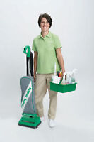 RESIDENTIAL CLEANERS WANTED: FULL AND PART TIME
