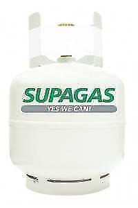 BBQ Supa gas bottle/cylinder - 9.5KG - Brand new - FULL