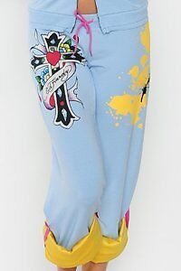 Ed Hardy Stretch Terry Roll-up Sweat Pants West Island Greater Montréal image 4