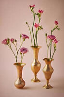 6 Brass Candle holders - wedding - BHLDN - Paid $297