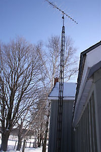 Antenna Tower setup for  TV or Internet