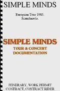 Simple Minds Tour