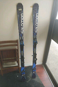 Salomon Pro Skis 75 Xprive Single Titanium 123-75-104 R14 168cm