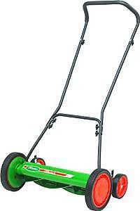 "Manual Lawn Mower 20"" with clipping catcher"