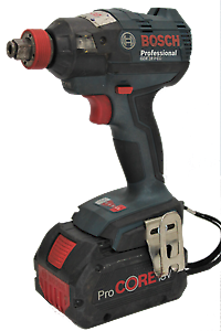 Bosch Cordless Impact Driver/Wrench GDX 18 V-EC with 8ah