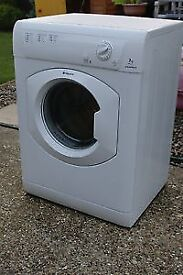 12 Hotpoint TVM570 7kg White Vented Tumble Dryer 1 YEAR GUARANTEE FREE DELIVERY