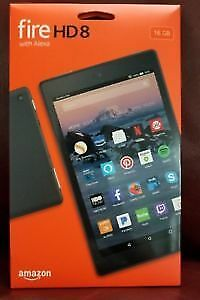 "Fire HD 8 Tablet | 8"" HD Display, 16 GB, Black"
