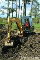 Mini Excavator & Skidsteer for Hire
