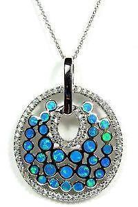 Fire opal necklace ebay white fire opal necklace aloadofball Choice Image