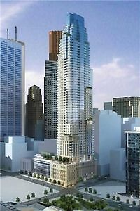 Bachelor studio available for sale in Luxury condo 88 scott