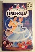 Disney VHS Movies Cinderella