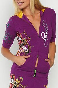 Ed Hardy Stretch Hoodie with Tiger West Island Greater Montréal image 1
