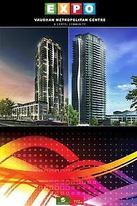 VAUGHAN DOWNTOWN INVESTMENT OPPORTUNITY EXPO 3 CONDOS