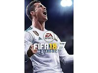 FIFA 18 perfect condition Xbox one