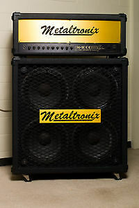 WANTED - METALTRONIX -Amps & Cabs, & LEE JACKSON - Amps, Cabs