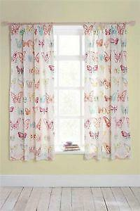 Perfect Pink Butterfly Curtains