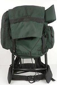used external frame backpack