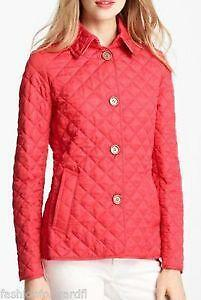 Burberry Quilted Jacket | eBay : red burberry quilted jacket - Adamdwight.com