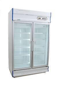 Double Glass Door Display Freezer GDJ1261 -1000Lt- Catering Equip