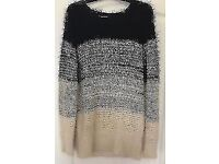 OVERSIZED PULL OVER KNIT SWEATER JUMPER, S