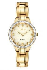 Citizen Women's EX1362-54P Silhouette Analog Display Japanese Qu