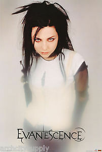 POSTER :MUSIC : EVANESCENCE - AMY LEE - WHITE DRESS 47-2