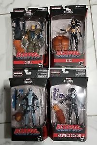 Marvel Legends Cable  + Deadpool (Grey) MISB