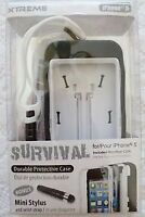 Dark Blue Survival Durable Protection Case for iPhone 5/5s
