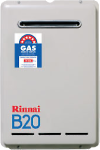 Rinnai B20 LTR NG Or LPG Continuous Flow Water Heater