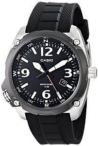 "Casio Men's MTF-E001-1AVCF ""Classic"" Black Quartz Watch Cambridge Kitchener Area image 1"