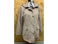 Quality Ladies Klassik Clothing Casual Coat Size 12