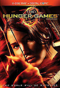 The Hunger Games 2-Disc DVD + Digital Copy - Brand NEW - Sealed!