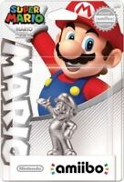 2 BNIB Silver Mario Amiibo For $20 Each