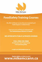 Food Safety Level 1 Certificate Course Thursday June 8th