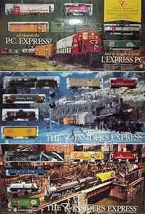 PRESIDENTS CHOICE TRAIN SETS  Complete Set of 11 - Brand New