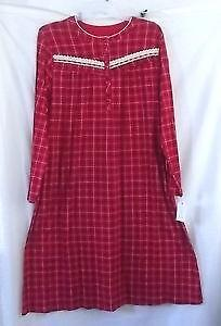 Flannel Nightgown Sleepwear Robes Ebay