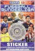 Topps Bundesliga Sticker 2010 2011