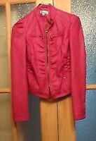 Hot Pink Coat Size Small