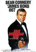 James Bond Filmplakat