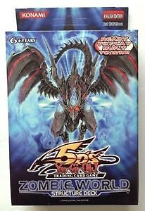 Yugioh, Zombie World Structure Deck 1st Ed Unopened New