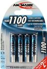 ANSMANN NiMH AAA Rechargeable Batteries