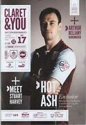 Burnley Football Programmes