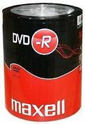 100 DVD Rohlinge