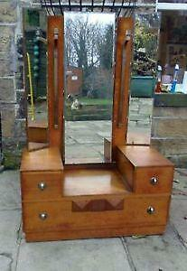 art deco dressing table mirror ebay