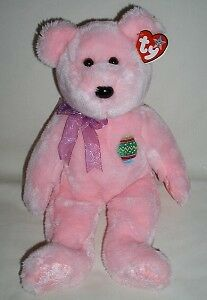 Eggs the Easter Bear Ty Beanie Buddy stuffed animal