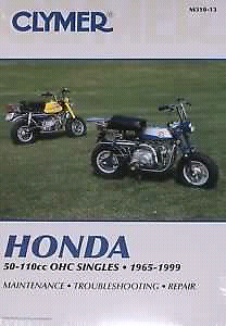 Honda z50 and ct Clymer manual
